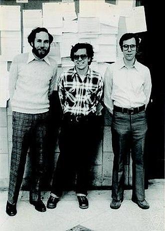 Gregg Zuckerman - From left: Gregg Zuckerman, David J. Saltman, Robert Fefferman, Yale 1979
