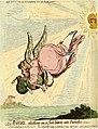 """""""An angel, gliding on a sun-beam into paradice; Milton. (BM 1868,0808.6111).jpg"""