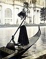"""Gondola girl."" Transportation at the 1904 World's Fair.jpg"