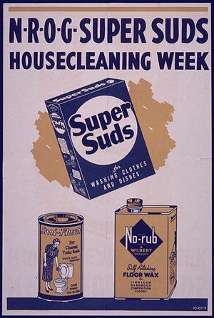 Blondie (radio) - Super Suds WWII advertisement