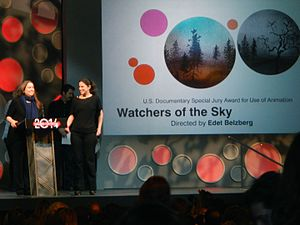 """Watchers of the Sky - Image: """"Watchers of the Sky"""" Wins the U.S. Documentary Special Jury Award for Use of Animation (12186654296)"""