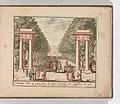 """"""" 't Konings Huis op 't Loo"""", in- Tooneel Der Voornaamste Nederlands Huizen, En Lust Hoven, Naar T Leven Afgebeeld MET DP-1664-006.jpg"""
