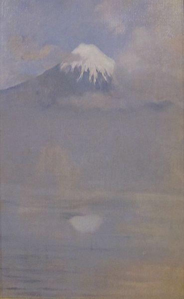 File:'Fujiyama' by John Henry Twachtman, Cincinnati Art Museum.JPG