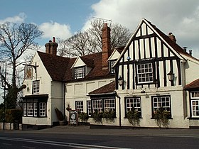 'The Griffin' inn, at the heart of Danbury village - geograph.org.uk - 732673.jpg
