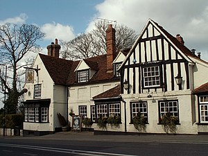 Danbury, Essex - Griffin Inn where Walter Scott stayed in 1808