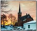 (187 365) Most Holy Trinity Church at Sunrise Wallingford, CT (15748508354).jpg
