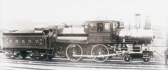 Syracuse and Binghamton Railroad - Syracuse, Binghamton and New York, Engine 5, date unknown