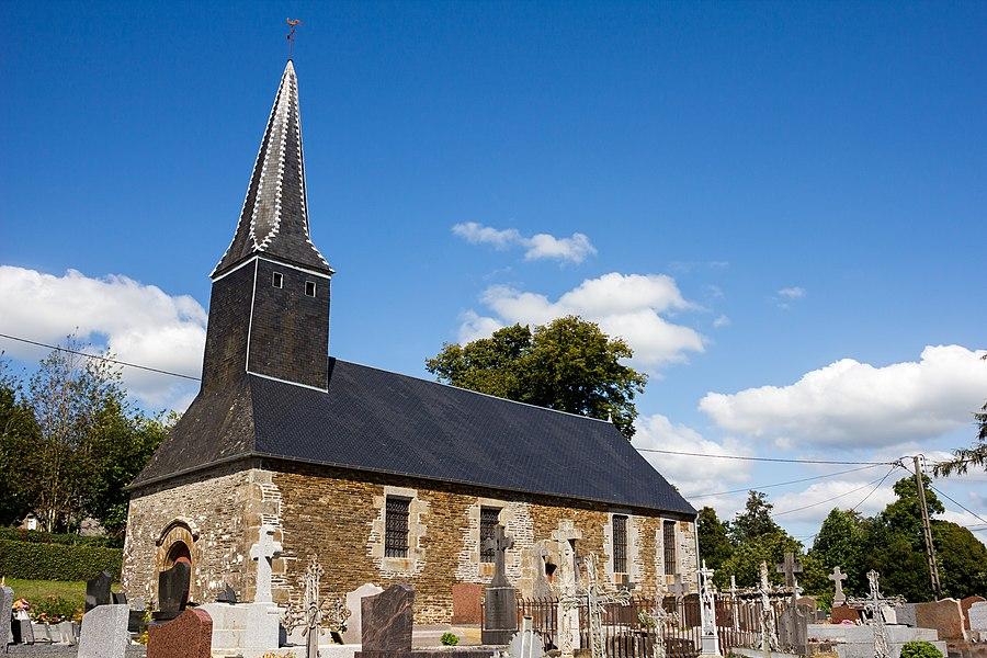 Français:  Église Saint-Jean-Baptiste de Chasseguey (France).