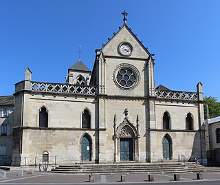 church in Montreuil, Seine-Saint-Denis, France