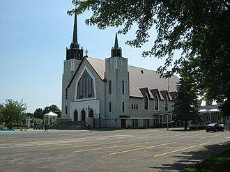 Yamachiche - Church of Sainte-Anne-d'Yamachiche built in 1794