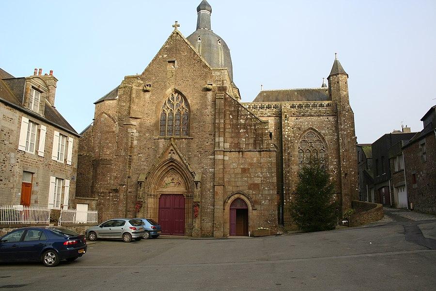 Ancienne église de l'abbaye de Saint-Sever, aujourd'hui église paroissiale
