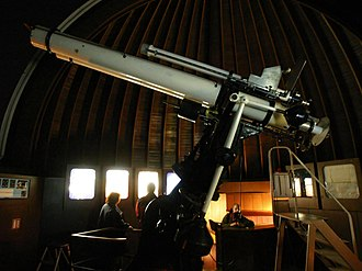 Štefánik's Observatory - Image: Štefánik Observatory Zeiss Refractor
