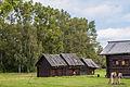Амбары западный, средний и восточный из деревни Собакино Нерехтского района Костромской области.jpg