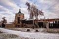Башта і мур Летичівського замку, січень 2020.jpg
