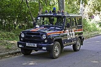 Military Police (Russia) - Image: ВАИ ПМР Донор