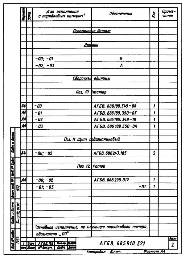 ГОСТ 2.113-75. Приложение 17.