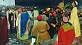 Князь Глеб Святославович убивает волхва на Новгородском вече.jpg