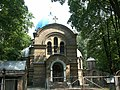 Латвия (Latvija), Рига (Rīga) (Mēness iela), церковь Покрова (Pokrova pareizticīgo baznīcas), 13-47 10.07.2006 - panoramio.jpg