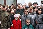 Президент України Петро Порошенко привітав молодих офіцерів з випуском 8984 (16325035313).jpg