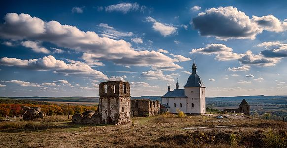 Pidhora monastery in Ternopil Oblast, Ukraine