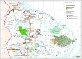 Схема размещения ООПТ Мурманской области по состоянию на 01.01.2011.png