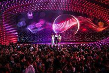 Photo de la scène du Concours 2015.