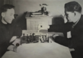 Фёдор Самохин и Николай Чекменёв в командировке в Джамбуле 1951 год.png