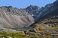 Хребет Тунгинские гольцы.Озеро под перевалом Бепкан.jpg