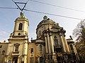 Церква Пресвятої Євхаристії, костел Домініканців (Львів).jpg