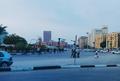 المتحف المصرى وخلفه فندق رمسيس هيلتون1.png
