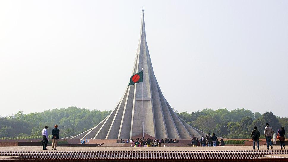 জাতীয় স্মৃতি সৌধ - The National Martyrs' Monument of Bangladesh