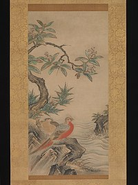 四季花鳥図-Pheasants among Trees- Flowers of the Four Seasons MET DP361140.jpg