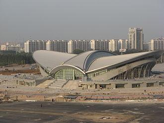 Cangzhou - Image: 沧州体育馆