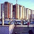 -Москва строится. Крупнопанельные жилые дома с кирпичной облицовкой стен. ЖК -Вершинино у -метро -Нагорная (11582382093).jpg