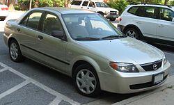 2001-2003 Mazda Protegé sedan (US)