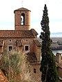 015 Església de la Nativitat (Miravet), des del c. Castell.JPG