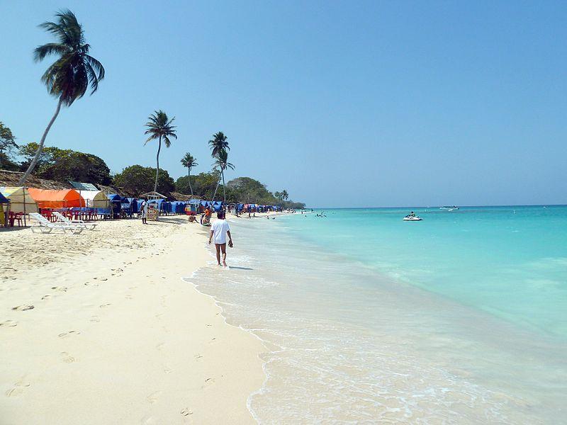 Playa Blanca Colômbia fotos