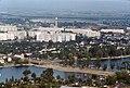 024R14050876 Blick vom Donauturm, Alte Donau, Kagraner Brücke 05.08.1076.jpg