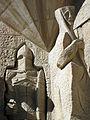 051 Sagrada Família, façana de la Passió, soldat i Pròcula.jpg