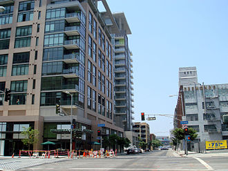 South Park (Downtown Los Angeles) - Downtown development in South Park.