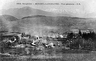 Miribel-Lanchâtre Commune in Auvergne-Rhône-Alpes, France