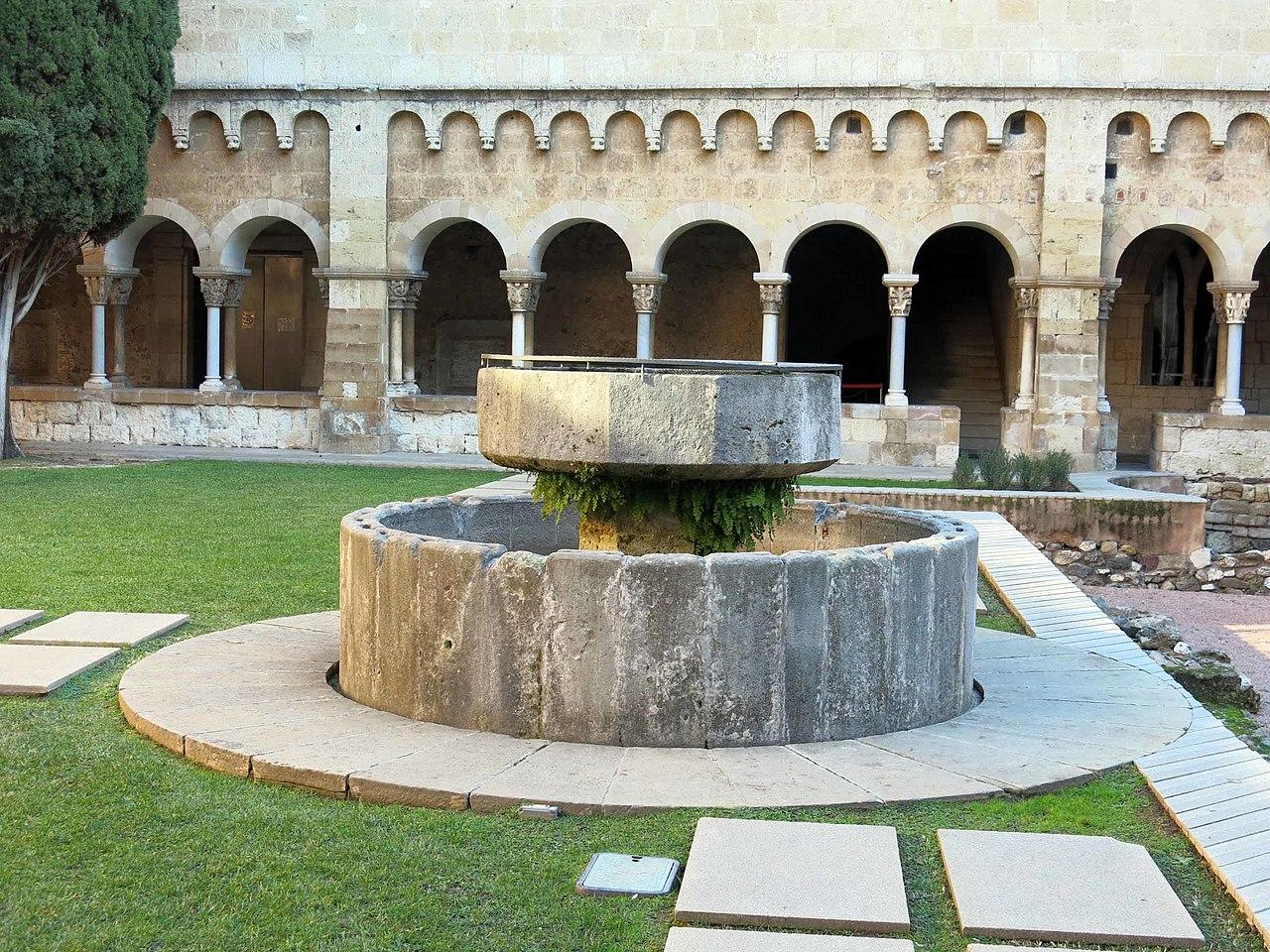 Datei 094 monestir de sant cugat del vall s font del - Alfombras sant cugat ...