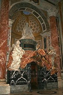 0 Monument funéraire du pape Alexandre VII - St-Pierre - Vatican (1).jpg