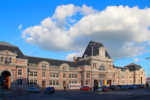 Tournai railway station - Tournai railway station in 2012