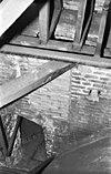 1, detail boog zuid muur voormalige z.transept. 2, huidige en voorgenomen toegang van zuid traptoren naar zolder zuid beuk - amersfoort - 20009166 - rce