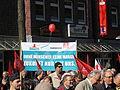 1. Mai 2013 in Hannover. Gute Arbeit. Sichere Rente. Soziales Europa. Umzug vom Freizeitheim Linden zum Klagesmarkt. Menschen und Aktivitäten (058).jpg