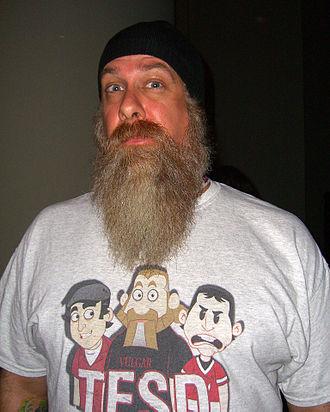 Bryan Johnson (comic book writer) - Johnson at the 2012 New York Comic Con