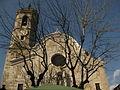 114 Sant Martí, campanar i façana amb esgrafiats.jpg