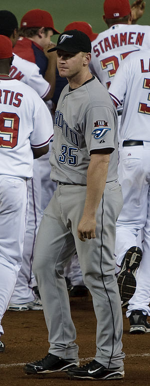 Lyle Overbay - Overbay during his tenure with the Toronto Blue Jays in 2009