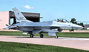 136th Fighter Squadron - General Dynamics F-16A Block 15 Fighting Falcon 80-0547